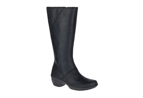 Emma Tall Leather Boots - Women's