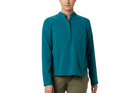 Canyon Pro Popover Long Sleeve Shirt - Women's