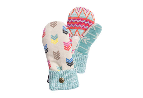 Multi Potholder Mittens - Women's