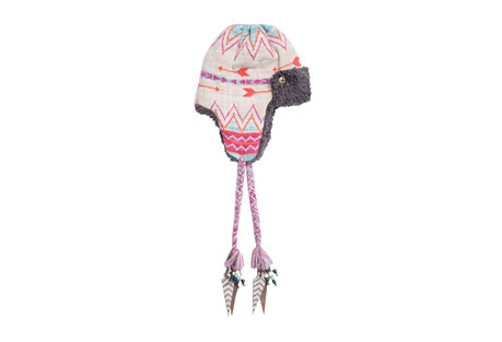 Free Fairisle Trapper Hat - Women's
