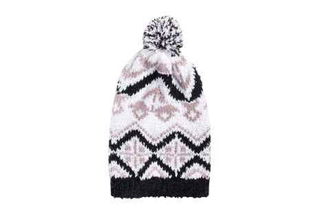 Tribal Slouch Beanie - Women's