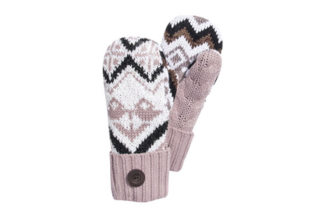 Tribal Potholder Mittens