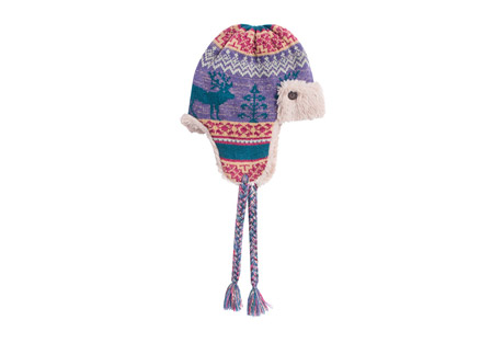Fairisle Trapper Hat - Women's