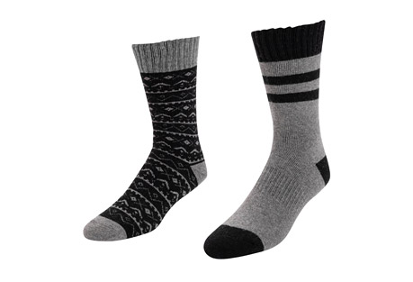 2-Pair Pack Wool Socks