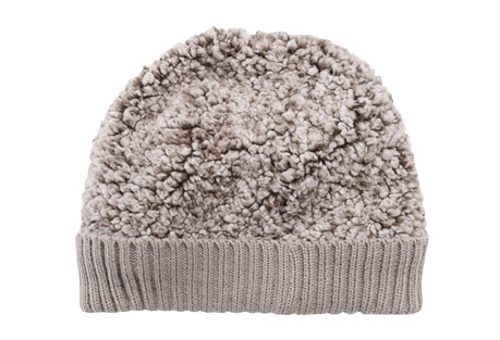 Frosted Sherpa Cuff Cap - Men's