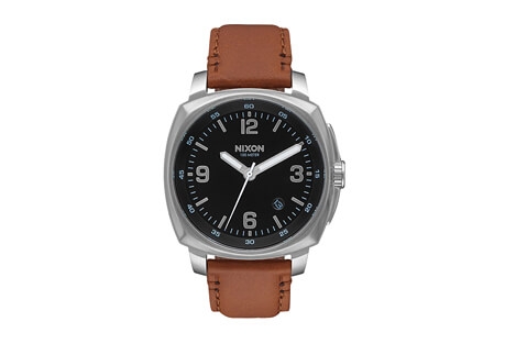 Charger Leather Watch