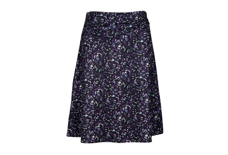 Print Jersey Knit Skirt - Women's