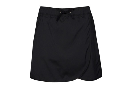 Solid Stretch Woven Skort - Women's