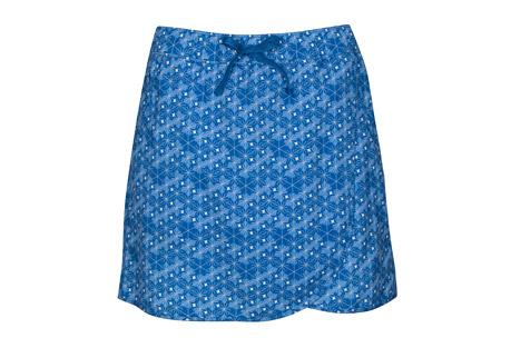 Print Stretch Woven Skort - Women's