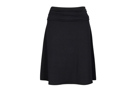 Solid Jersey Knit Skirt - Women's