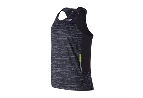 Printed NB Ice 2E Singlet - Men's