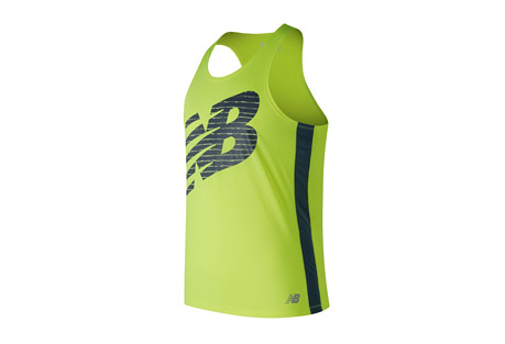 Accelerate Graphic Singlet - Men's
