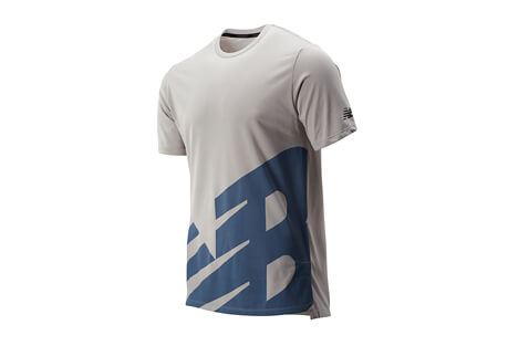 Printed R.W.T. Heather Tech Tee - Men's