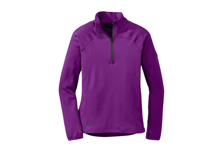 Radiant Lt Zip Top - Women's