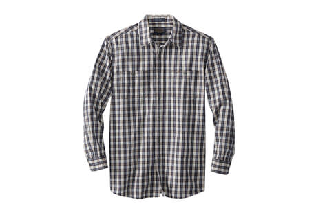 Long Sleeve Kay Street Fitted Plaid - Men's