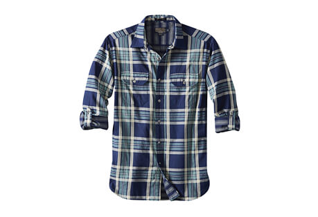 Fitted Thomas Kay L/S Double Face Shirt - Men's