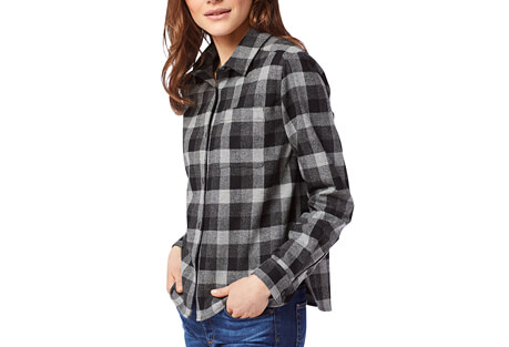 Cropped Lodge Shirt - Women's