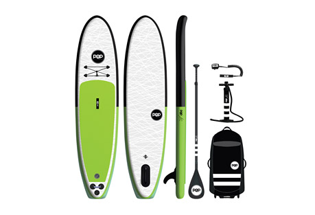 11' PopUp Paddleboard Package