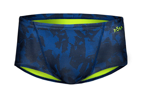 Elite Print Square Swimsuit - Men's