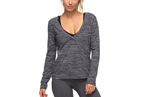 Soul Storm Wrap Yoga Top - Women's