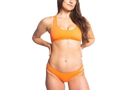 Issy Eco Friendly Strap Back Surf Bikini Top - Women's