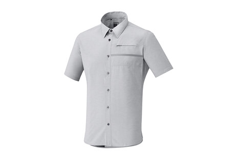 Transit SS Check Button Up Shirt - Men's