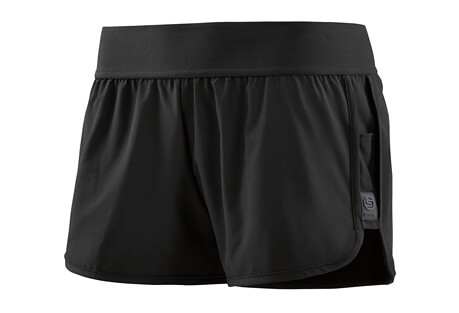 Activewear Running Swipe Hi-Lo Shorts - Women's