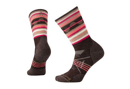 PhD Outoor Medium Pattern Crew Socks - Women's