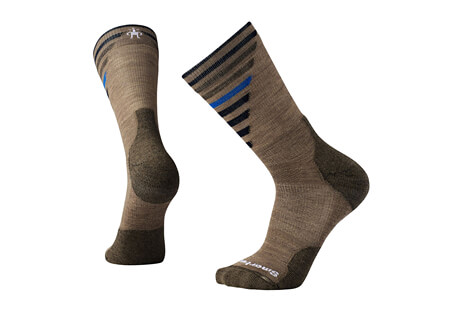 PhD Outdoor Light Pattern Crew Socks