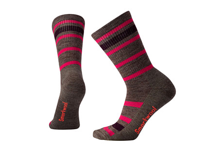 Striped Hike Light Crew Socks - Women's