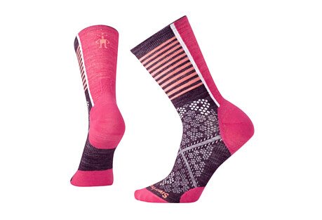 PhD Cycle UL Pattern Crew Socks - Women's
