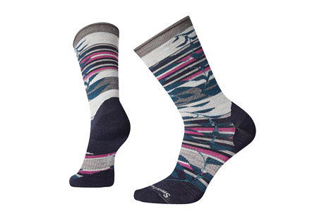 Non-Binding Pressure Free Palm Crew Socks - Women's