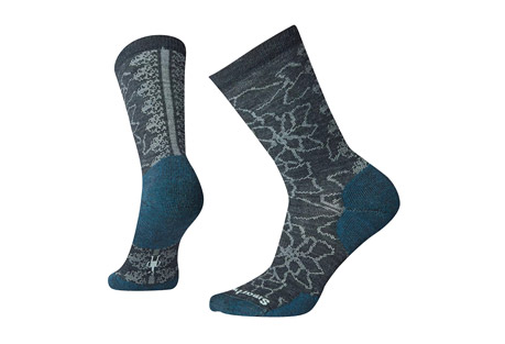 Poinsettia Graphic Crew Socks - Women's