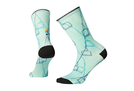 Curated Ski Lift Crew Socks - Women's