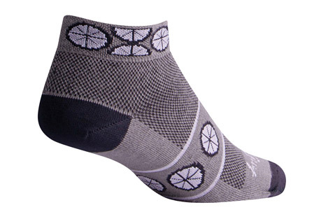 "Wheels 1"" Socks - Women's"
