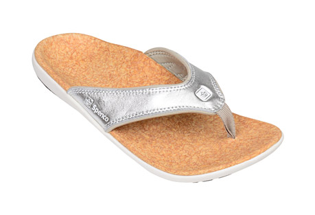 Yumi Metallic Sandals - Women's
