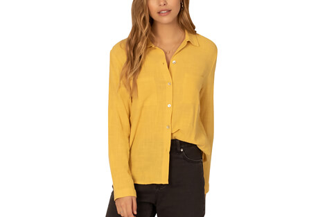 Breezy Days Woven Blouse - Women's