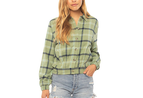 Plaid Lovin Jacket - Women's