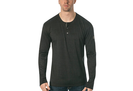 Mako L/S Fitness Tech Henley - Men's