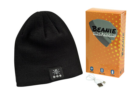 Wireless Bluetooth Beanie With Built-in Headphones