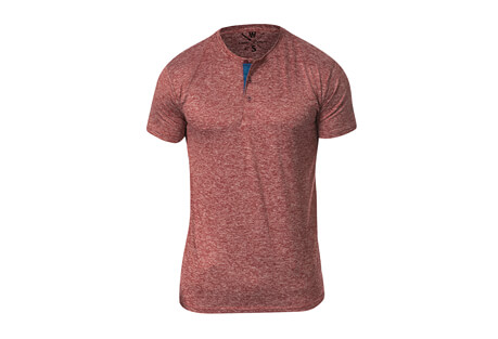 Spar Fitness Tech S/S Henley - Men's
