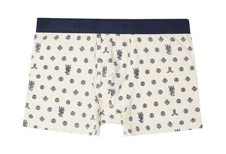 Monogram Boxer Brief - Men's