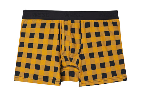 Plaid Check Boxer Brief - Men's