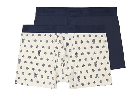 Monogram Boxer Brief 2 Pack - Men's