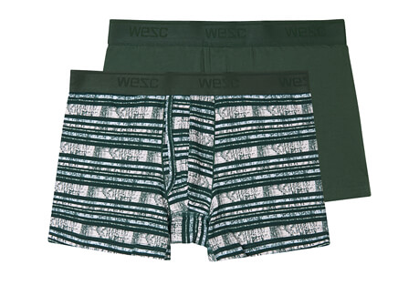 Stripes Boxer Brief 2 Pack - Men's