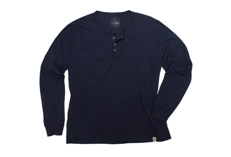 Classic Henley Long Sleeve Shirt - Men's