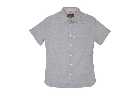 Burnside Short Sleeve Button Down Shirt - Men's