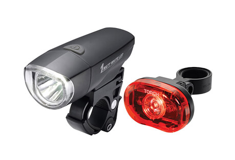 Light Set - 1 Watt LED Headlight 1/2 Watt LED Taillight