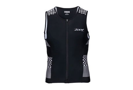 Performance Tri Full-Zip Tank - Men's